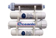 "Portable RO/DI Aquarium Reverse Osmosis Water Filter System 150 GPD 12"" Filters"