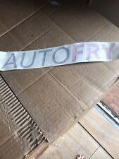 Autofry Label
