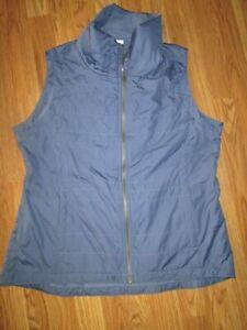 Womens COLUMBIA  insulated full zip vest jacket sz XL