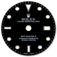 REFINED GMT-MASTER II SS BLACK LUMINOUS DIAL FOR ROLEX-40