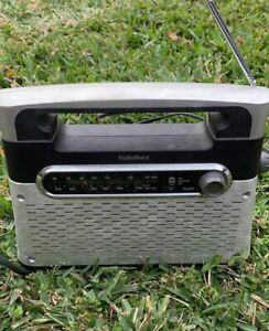 RadioShack Analog AM FM WX Radio w/ Antennae WORKING Tested Portable Radio Shack