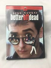 Better Off Dead (Dvd, 2002) John Cusack 1985 Savage Steve Holland Teen Comedy
