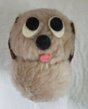 """Vintage 1977 Wallace Berrie fluffy figure toy size 3"""" Puppy Dog 100%  to charity"""