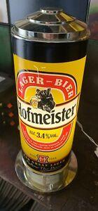 Rare Hofmeister Lager Light Up Advertising Bar Font Breweriana