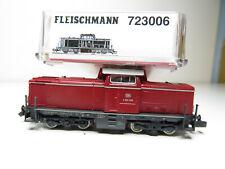 218N - Fleischmann 723006 N - Diesellok V 100 1186 rot DB - DCC - OVP