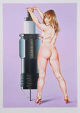 Mel Ramos - Portrait d'une jeune fille americain - 2000 Pop Art Grafik, Luxus