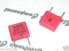 10pcs - WIMA MKP10 4700P (4700PF 4.7nF 0,47nF) 630V 5% pitch:7.5mm Capacitor
