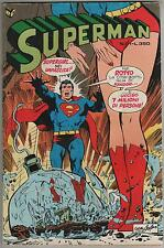 SUPERMAN cenisio N.21 1977 MAI PIU' KRYPTON ! supergirl