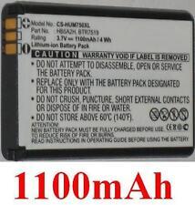 Batterie 1100mAh type BTR7519 HB5A2H Pour Huawei C8000