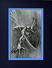 CATWOMAN PRINT PROFESSIONALLY MATTED Alex Ross art Batman