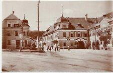 Wien XXII: Gruß aus Aspern Hotel schwarzer Adler ( herrliche Fotokarte 1905 )