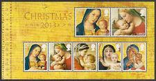 GB MS3549 Christmas 2013 miniature sheet MNH 2013