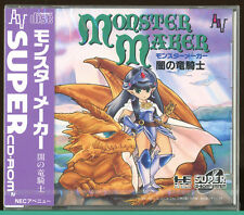 Monster Maker Brand NEW Sealed PC-Engine SCD PCE Grafx JAPAN Video Game pe