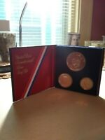 1776-1976-S ~ 40% Silver United States Bicentennial Proof Set ~ 3 coins w/Box