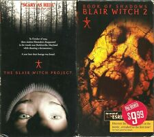 The Blair Witch Project Vhs 1999 & Book Of Shadows Blair Witch 2 Lot of 2 Tapes