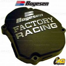 Boyesen Factory Racing Black Ignition Cover For Yamaha YZ 125 2005-2018
