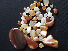 Lot Of Natural Loose Gemstone Agates 330 Carats Large Cabochon