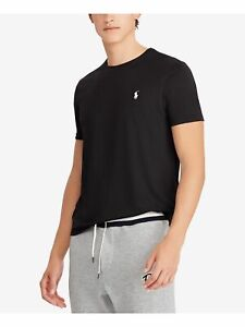 RALPH LAUREN Mens Black Short Sleeve T-Shirt XL