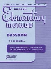 Rubank Elementary Method - Bassoon [Rubank Educational Library] by , Paperback