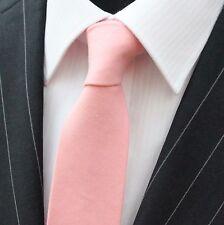Tie Neck tie Slim Pink Quality Cotton T680