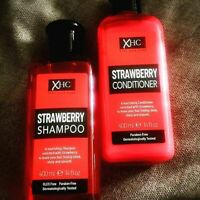 XHC Xpel Hair Care STRAWBERRY Shampoo & Conditioner & BODY WASH For Nourishing