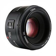 Yongnuo YN 50mm F/1.8  Autofokus Objektiv Lens für Canon EF Mount EOS Kamera