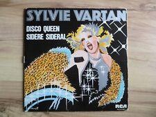 Sylvie Vartan Disco Queen / Sidere 45 RPM Clear Vinyl Canada