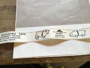 Vintage Cattle & Pig Farmers Boy Weighing Measuring Tap Dalton Supplies Ltd