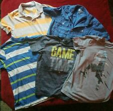 Lot of 5 - Boys Short Sleeve sports Shirts Size 10/12 (Old Navy, Champion)