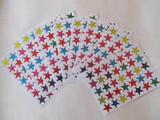 350 coloured reward merit stickers stars teacher school