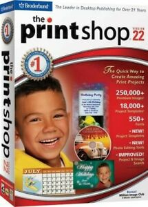 Print Shop Version 22 (PC) *New,Sealed*
