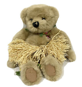 Hawaiian Collectibles Passport Bearfoot Mele Millennium Hawaiian Teddy Bear