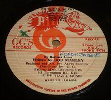 "Barbara Jones Tribute To The King Bob Marley~RARE 1981 Jamaica Import Reggae 12"""