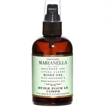 New Jaboneria Marianella Rosewood and Litsea Cubeba Body Oil 4 fl oz Sealed