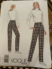 Vogue VP966 9318 Misses Top Skirt and Trousers Sewing Pattern Size XS-XXL