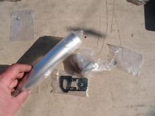 RENAULT scenic 2 door handle kit driver side rear silver GENUINE 7701209581