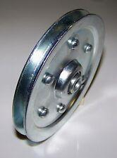 A Pair of Universal Garage Door pulley, panel lift door cable wheel
