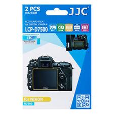 2x Lcd Screen Display H3 Hard Protection Camera Photo for Nikon D7500