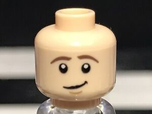 Lego Flesh Man Boy Minifigure Figure Blonde Hair Player 1 Gamer Reversible Head