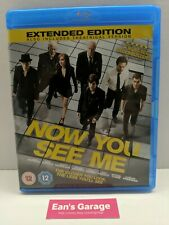 Now You See Me: Extended Ed: Blu-ray movie - tested - with Warranty