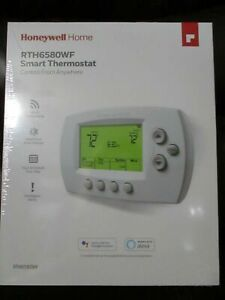 Honeywell Home Wi-Fi 7-Day Programmable Smart Thermostat Model RTH6580WF NEW