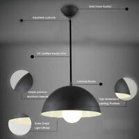 2x Pendelleuchte schwarz Design Hänge-Leuchte Decken-Lampe Küche Esszimmer