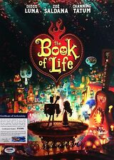 Guillermo Del Toro The Book Of Life Signed 11x14 Photo PSA Y85993