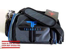 ThinkFit Insulated Lunch Boxes with 6 Portion Control Containers, Reusable Ice