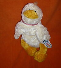 Mary Meyer Flip Flops DEWY DUCK Plush Extremely Relaxed Animals With Tags