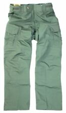 BLACKHAWK! BHI Warrior Wear MDU OD Green Slick Tactical Pants 32 x 36