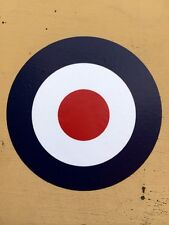2X MILITARY ARMY LAND ROVER mod vespa SANKEY RAF ROUNDALS STICKERS