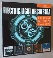 5 CD SET  *** ELECTRIC LIGHT ORCHESTRA. ORIGINAL ALBUM CLASSICS ***