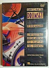 """""""Learn To Play The Drumset"""", Dvd, by Peter Magadini, with instructional booklet"""