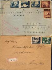 Kroatien WWII,1942,zwei Briefe